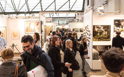 Vernissage Affordable Art Fair Brussels in Tour&Taxis