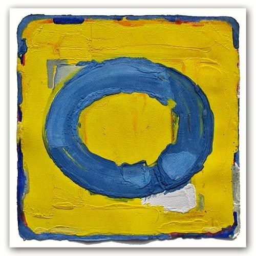 Bram Bogart – Blauw Geel