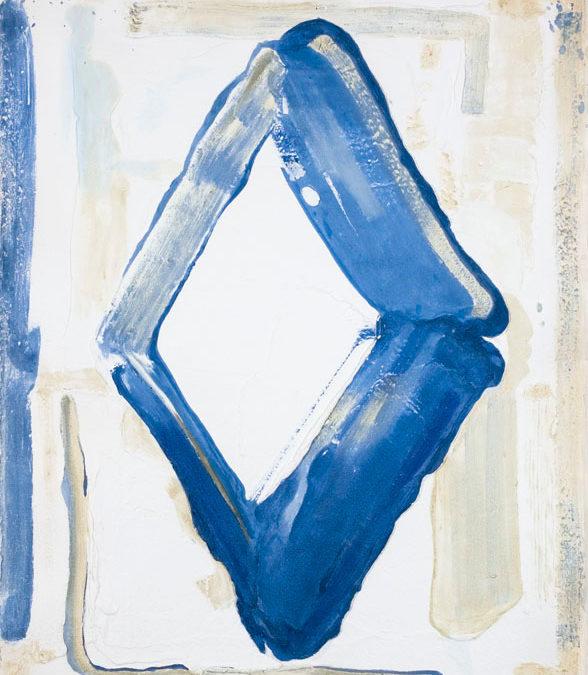 Bram Bogart – Blauw Wit