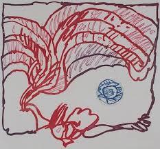 Pierre Alechinsky – Disque bleu