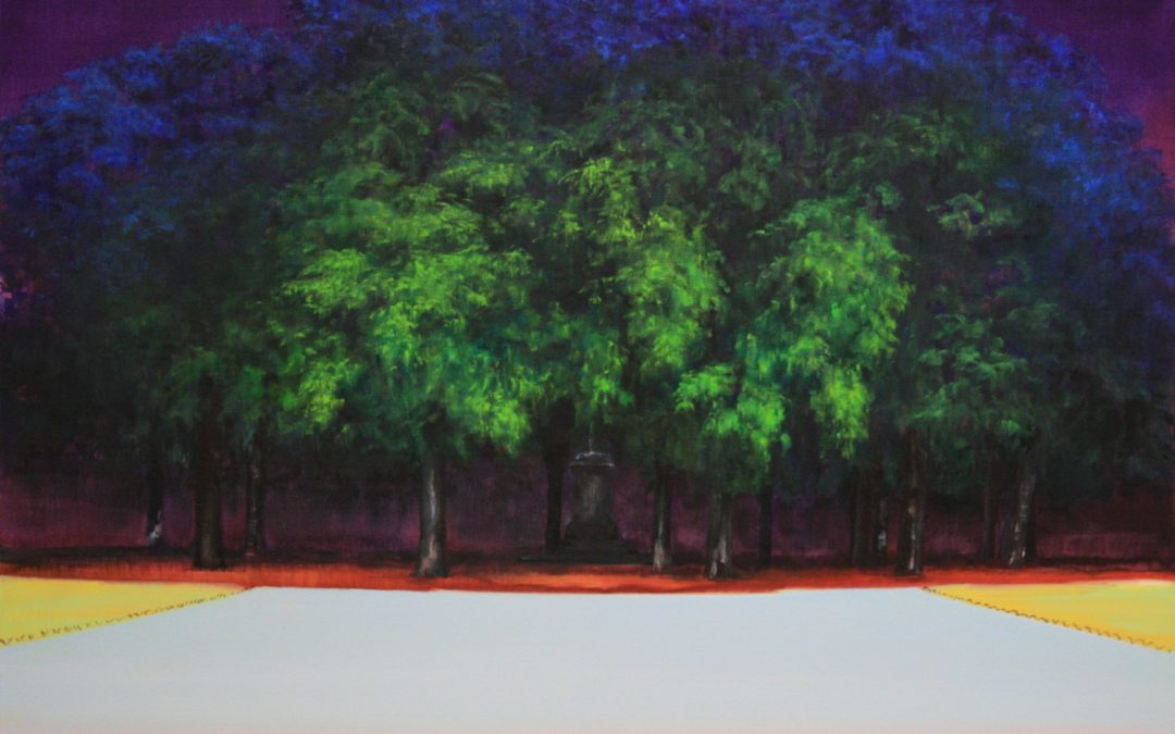 hans bruyneel-road-werk op doek