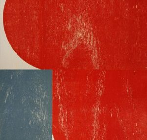 Richard Gorman big red woodblock ed40 2013
