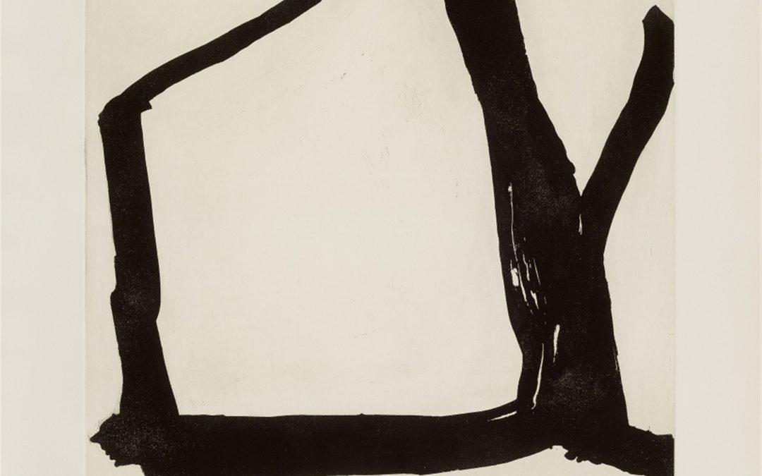 Emil Schumacher- etching A- /50- 110×80- 1964