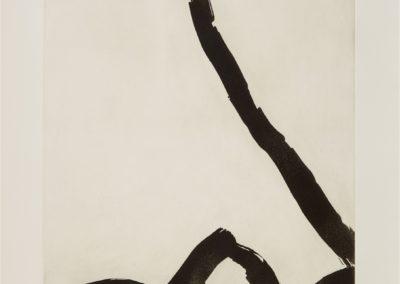 Emil Schumacher- etching D- /50- 110×80- 1964