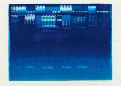 Heinz Mack-litho /75- Maerz uit 12 Monate- 95×25- 1990