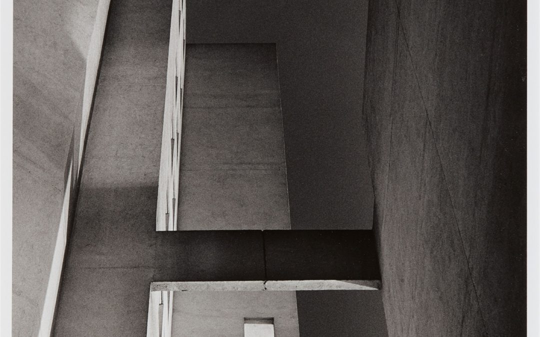 Tomas Riehle-Gelatin silver photo print- Rue des Hautes Formes II b- 50×40- 1980/1991