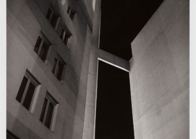 Tomas Riehle-Gelatin silver photo print- Rue des Hautes Formes II c- 50×40- 1980/1991