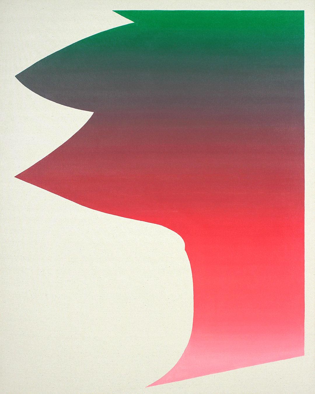 Felix Baudenbacher 0359 Large gradient 3 oil and wax on canvas 3 2015 115×90