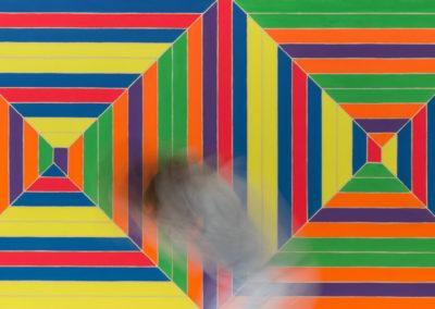 Laurence Aëgerter Colorfield Phaedra Stella 2018 ed./6 100×200